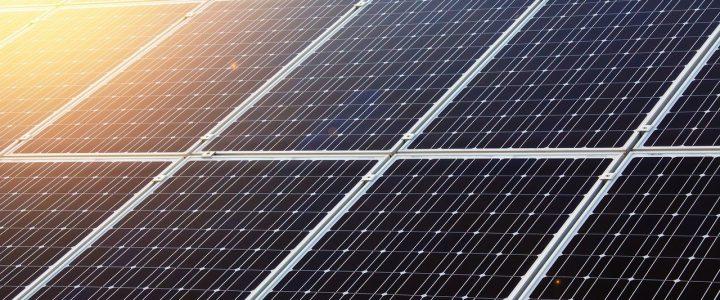 image of black solar panels in Carlsbad